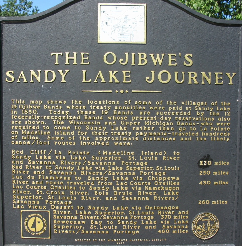 Conflict and Concession - The Sandy Lake Tragedy - 1854 Treaty of La Pointe (2/3)